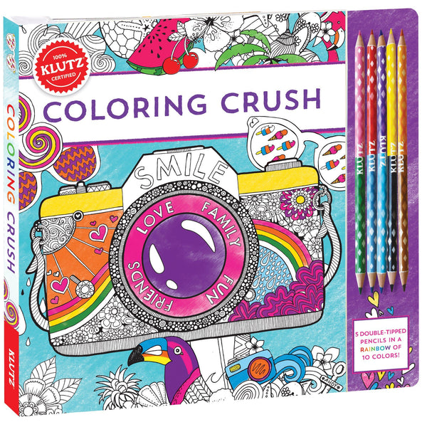Klutz® Coloring Crush Kit