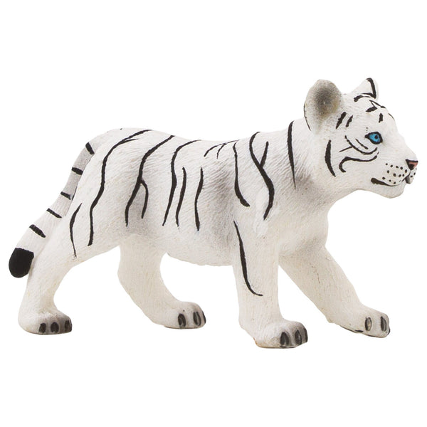 Mojo Fun Standing White Tiger Cub Figure