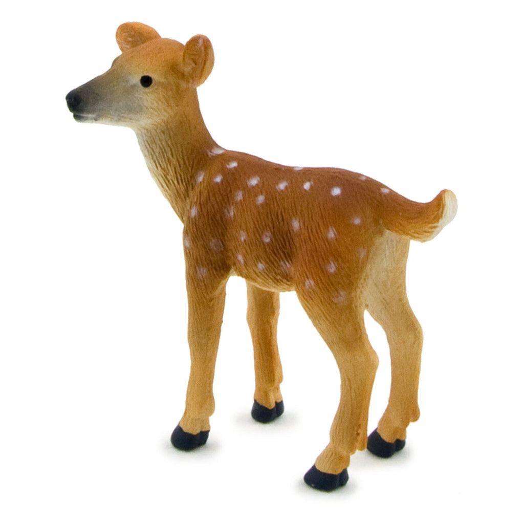 Mojo Fun White Tailed Deer Fawn Figure