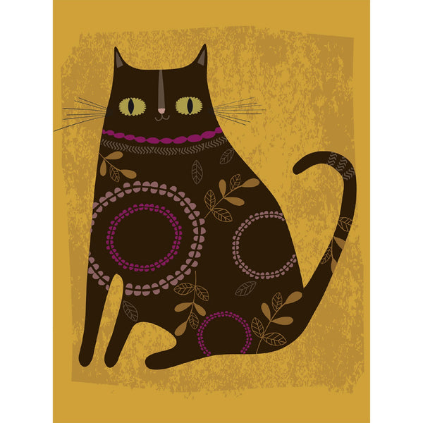 Quirky Cats Notecards - Set Of 8