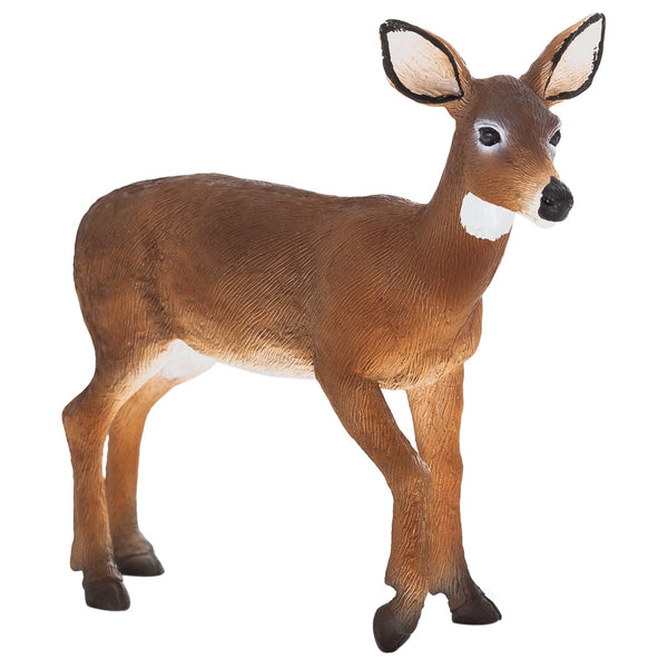 Mojo Fun White Tailed Deer Doe Figure