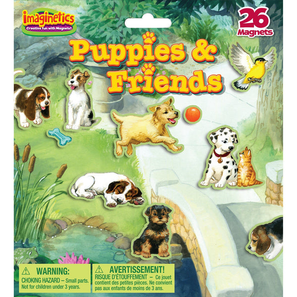 Imaginetics® Puppies & Friends Magnetic Playboard