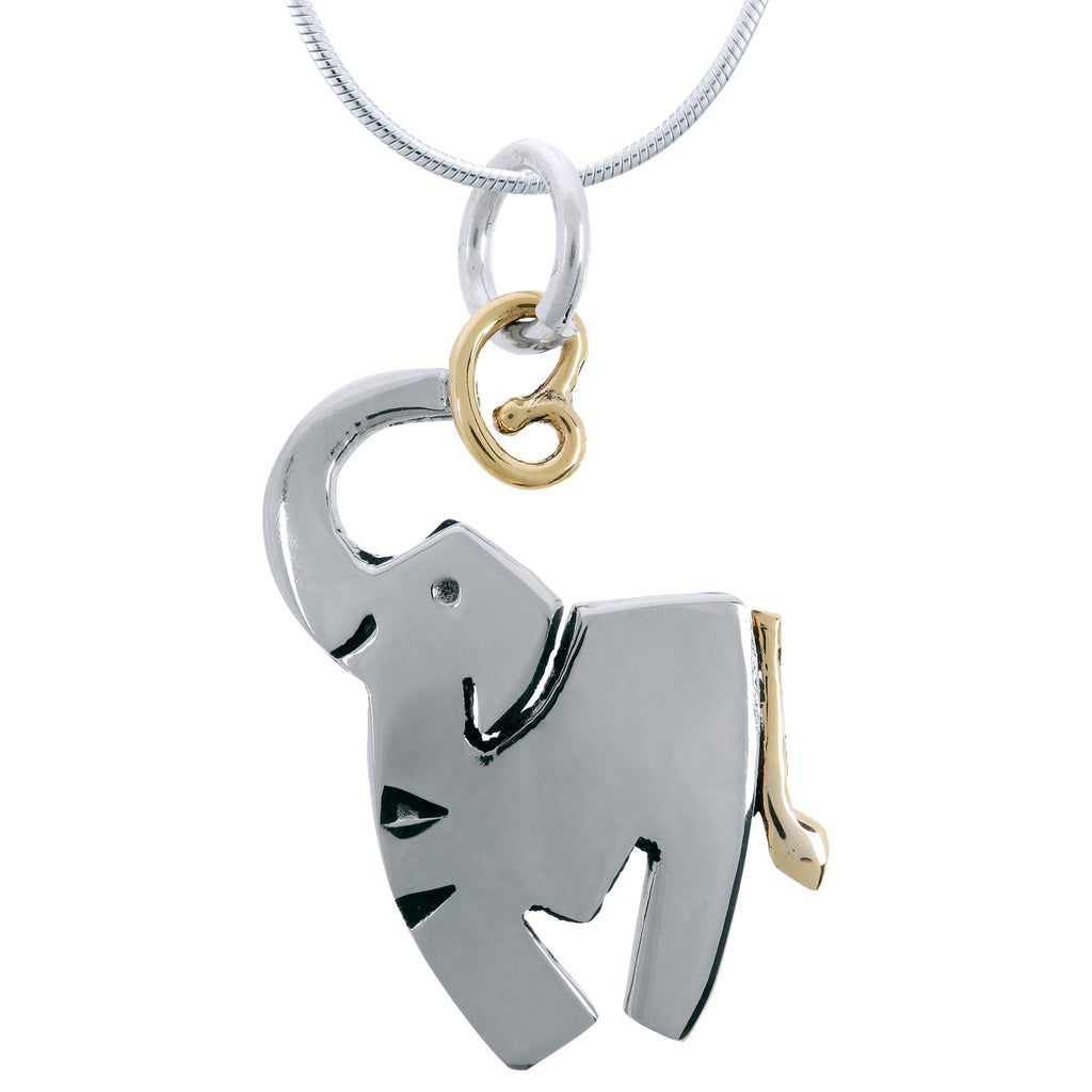 Sweet Dancing Elephant Necklace