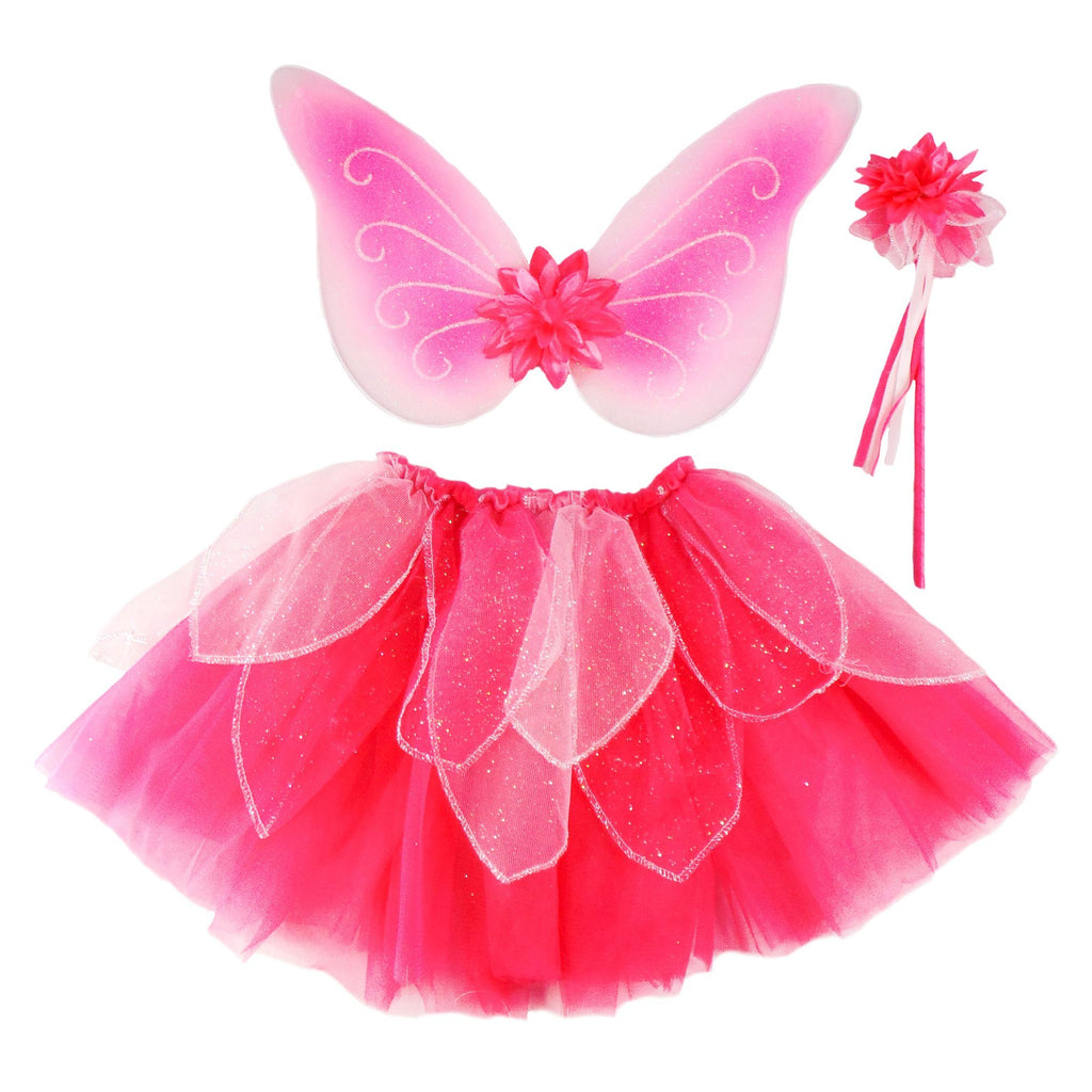 Fancy Flutter Skirt With Wings & Wand