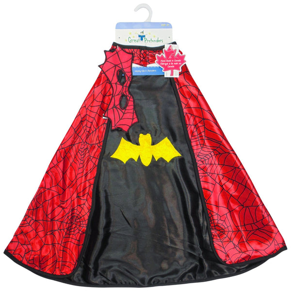 Reversible Spider & Bat Cape
