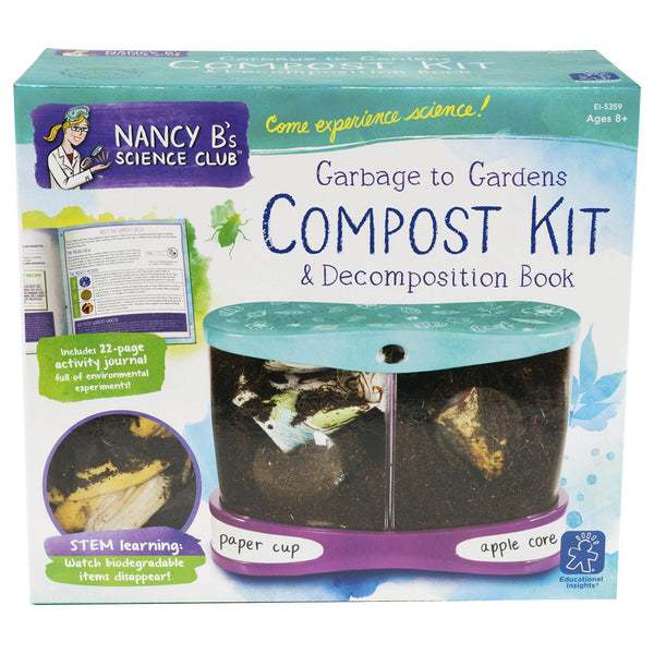 Nancy B's Compost Kit & Decomposition Book