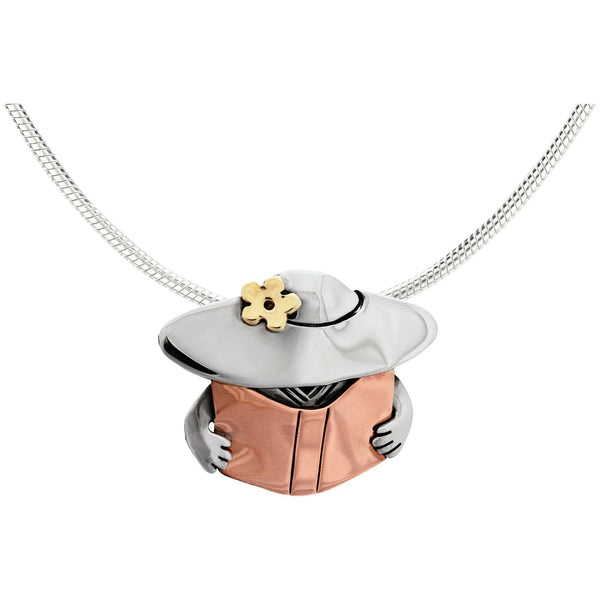 Book Lady Necklace