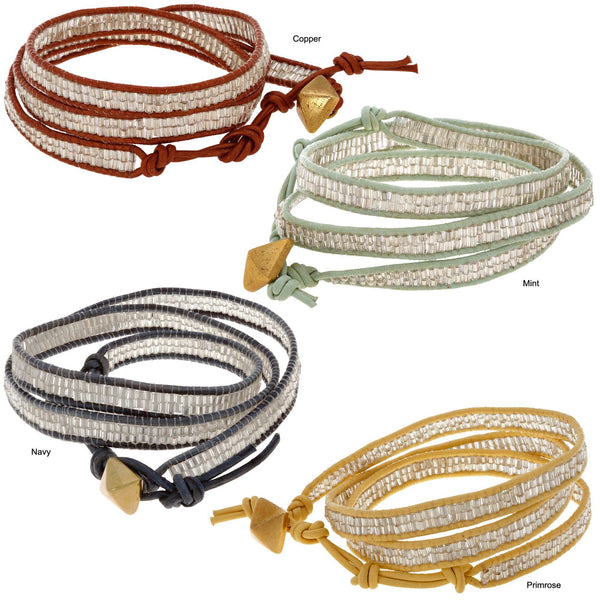 Sasa Shine On 3x Wrap Bracelet