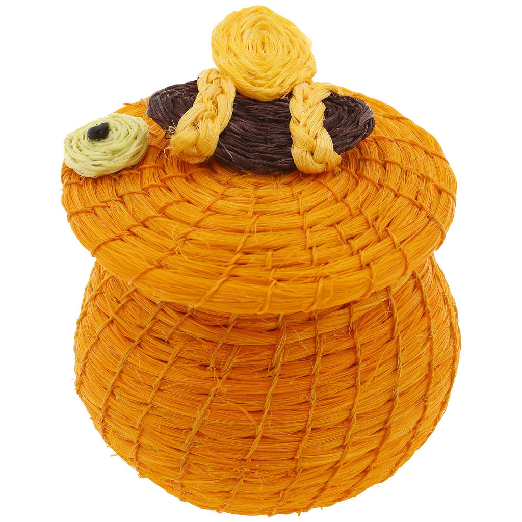 Lidded Animal Basket