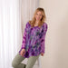 Butterflies in Bloom Long Sleeve Tunic