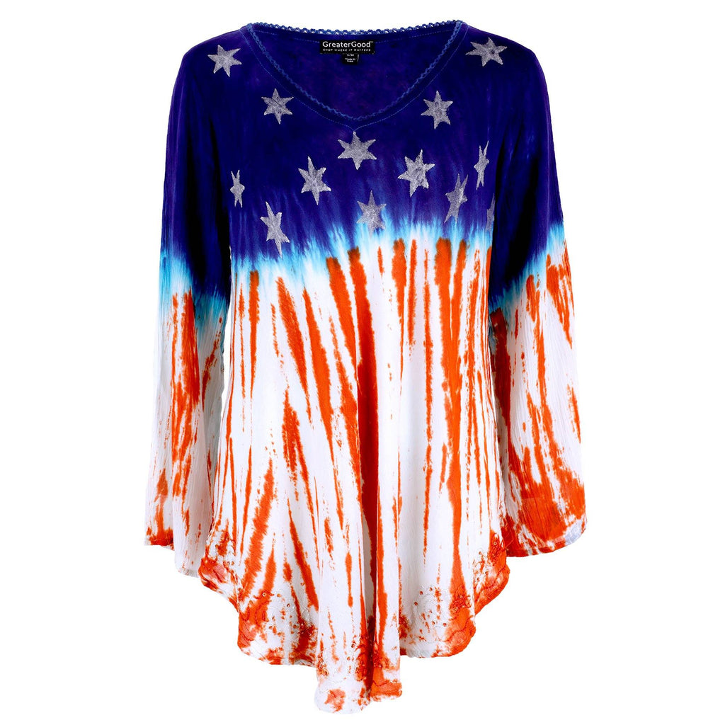 Stars & Stripes Long Sleeve Tunic