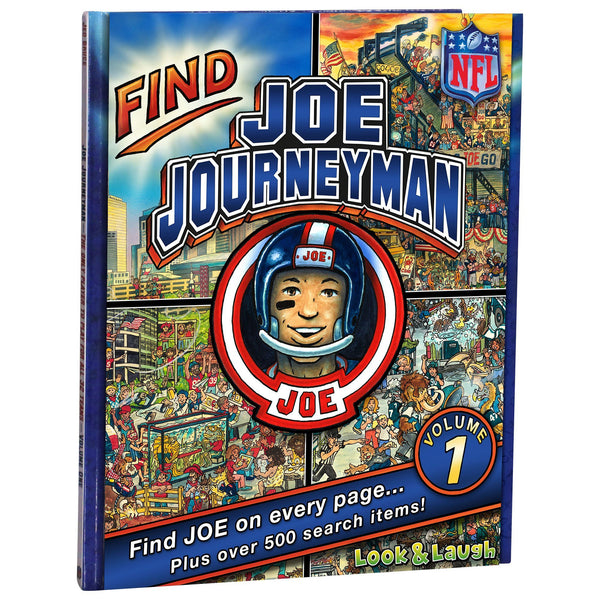 Find Joe Journeyman Search Adventure (Hardcover)