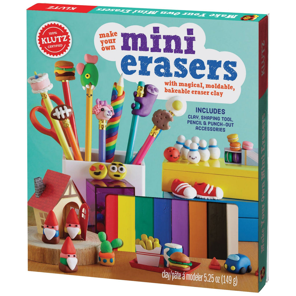 Klutz® Make Your Own Mini Erasers Kit