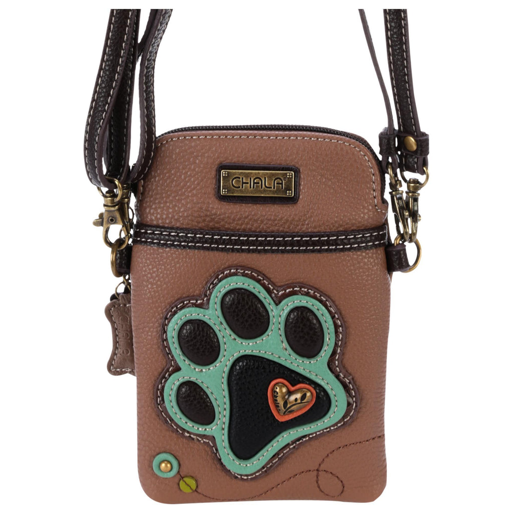 Paw Print Petite Crossbody Purse
