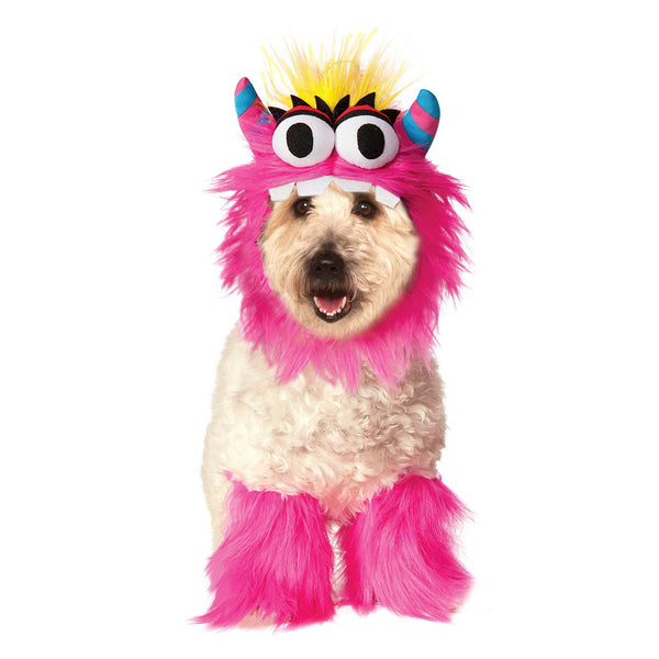 Pink Monster Pet Costume