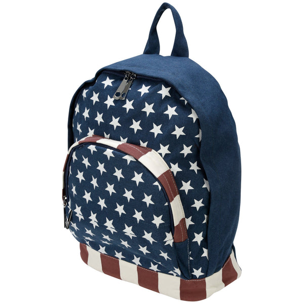 Stars & Stripes Cotton Backpack