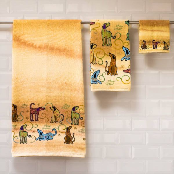 Festival Pet Bath Towels
