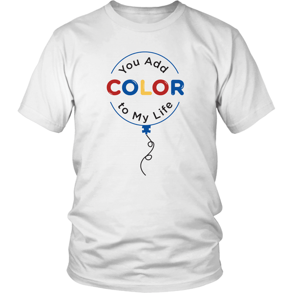 T-shirt - Color To My Life T-Shirt