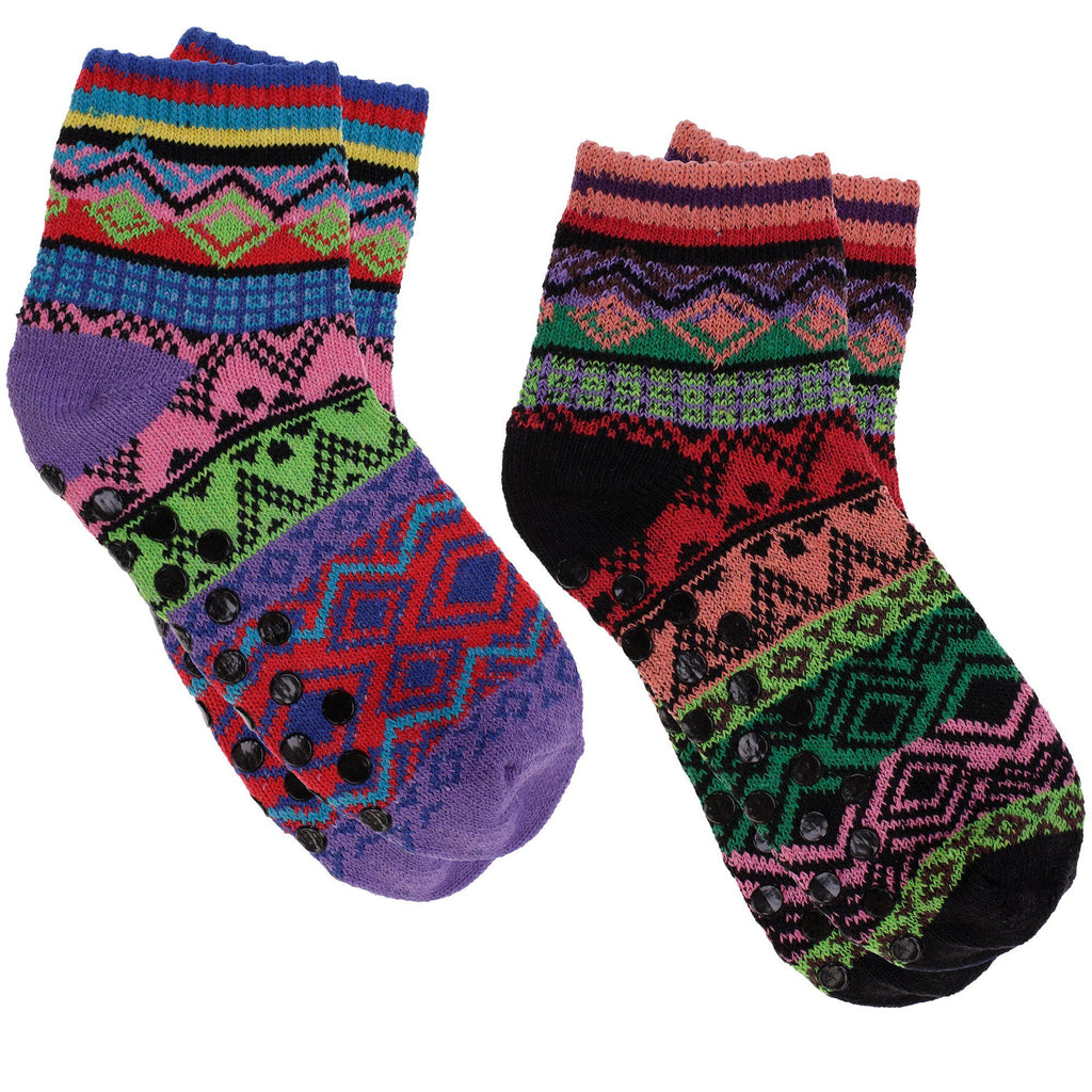 Northern Lights Slipper Socks Collection
