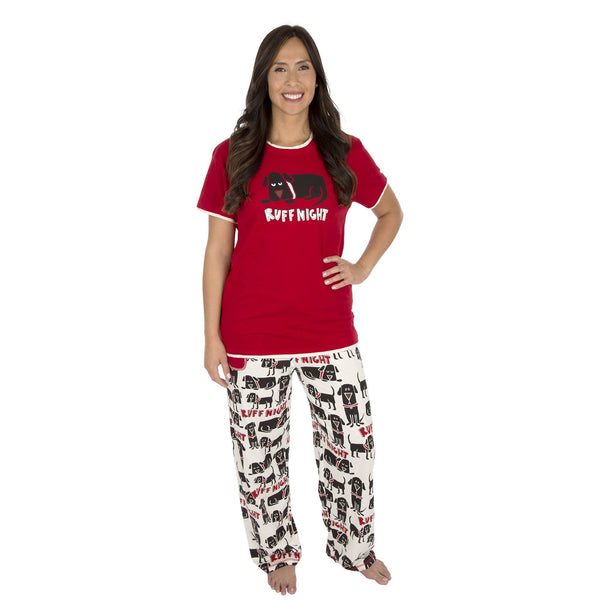 Ruff Night Pajama Set