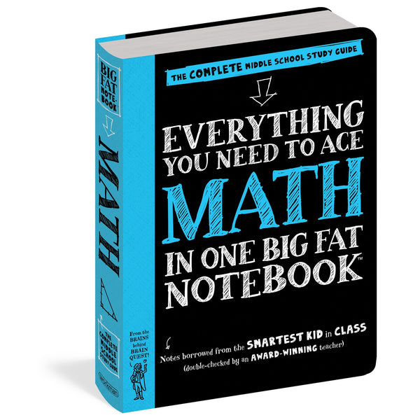 Everything You Need To Ace Math In One Big Fat Notebook (Paperback)