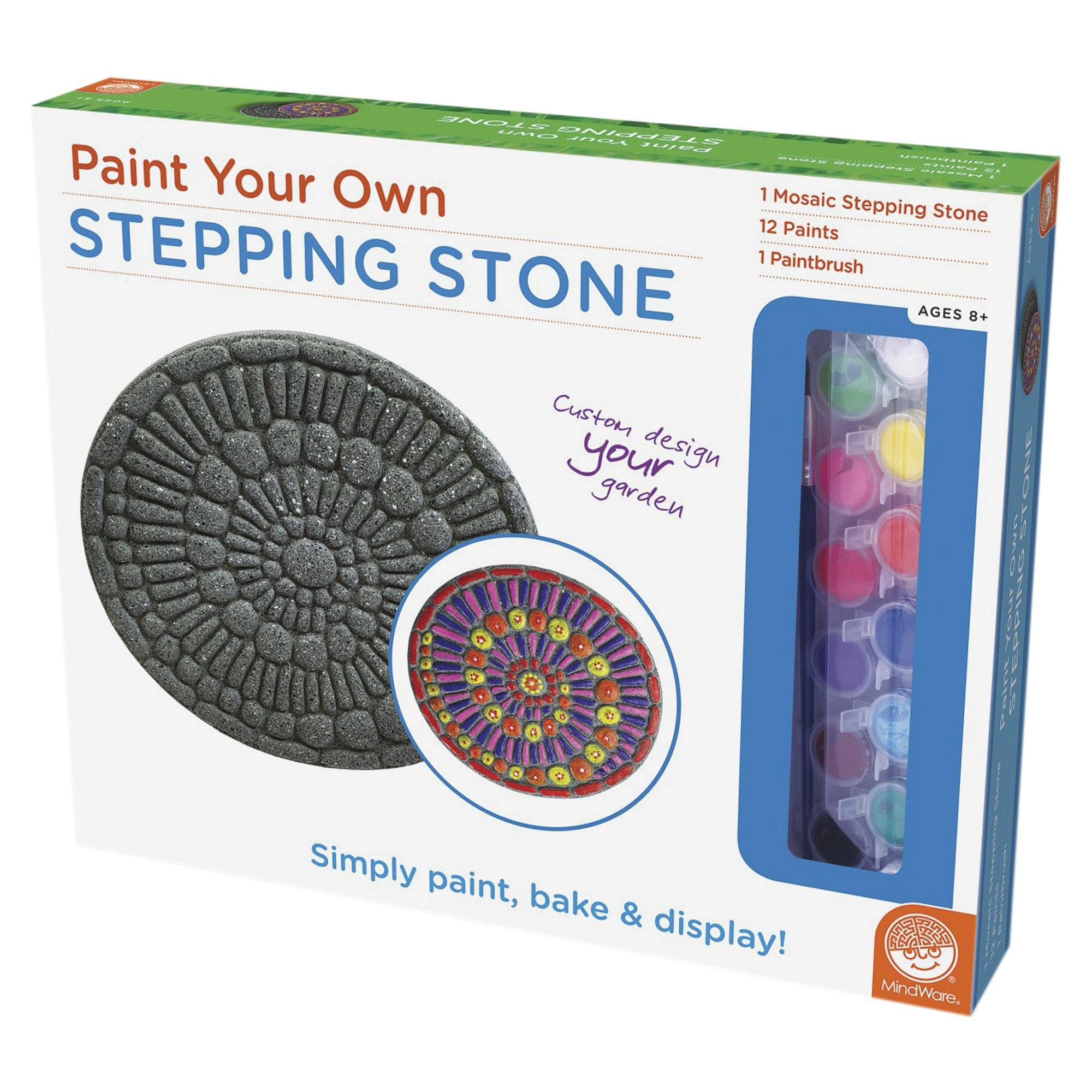 Paint Your Own Stepping Stone Creative Kidstuff