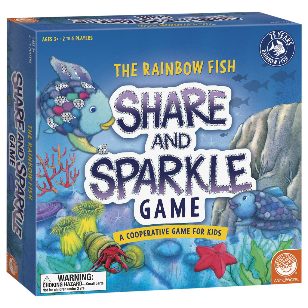 The Rainbow Fish Share & Sparkle Game