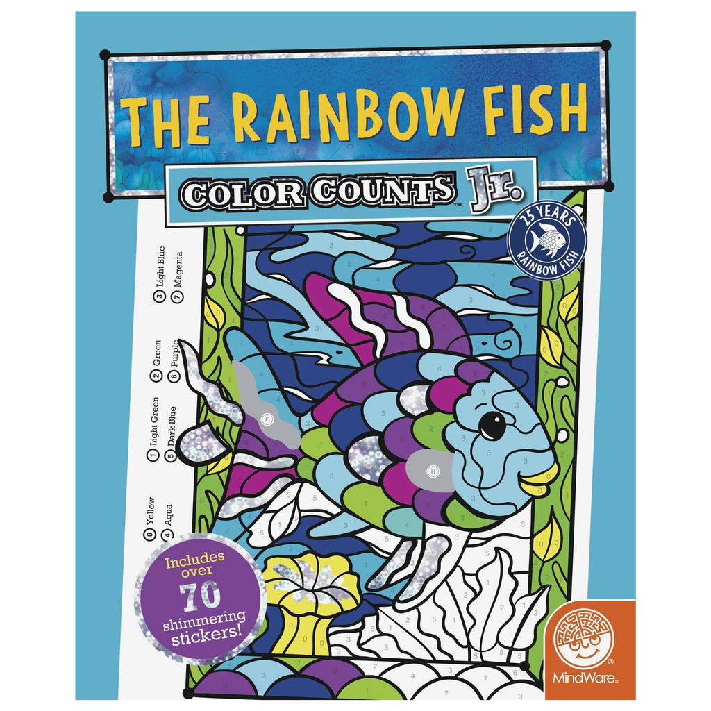 The Rainbow Fish Color Counts™ Jr. Sticker Book