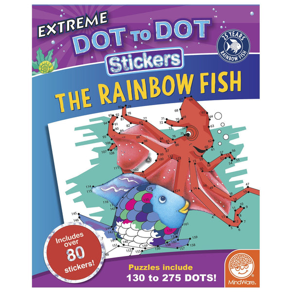 The Rainbow Fish Extreme Dot To Dot™ Sticker Book