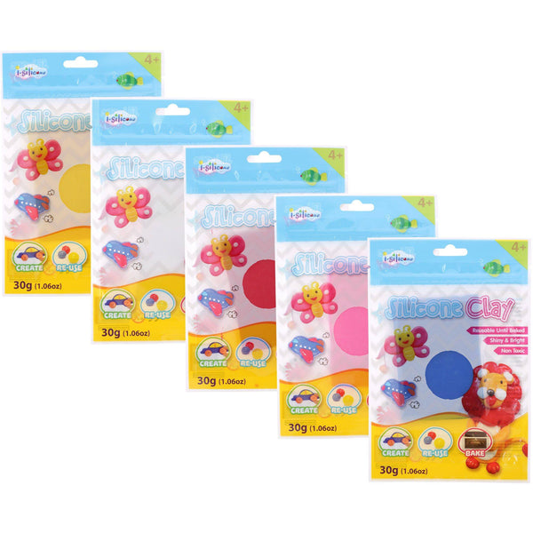 I-Silicone Clay Refill Pack
