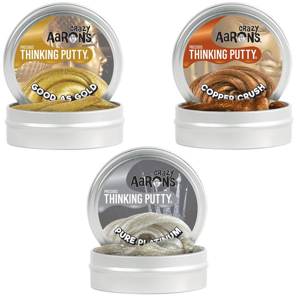 Crazy Aaron's Thinking Putty® - Precious Metals
