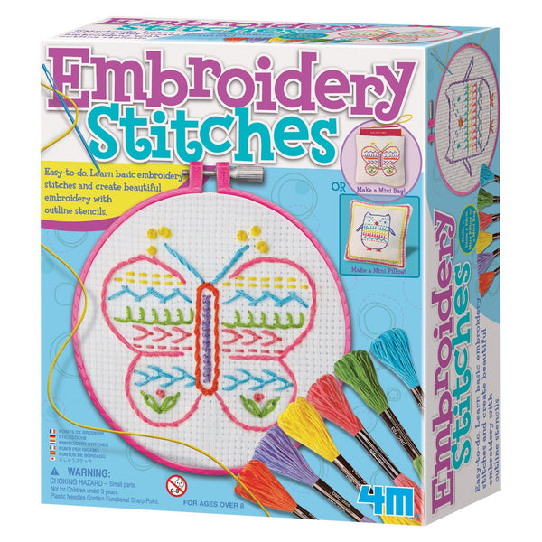 4M® Embroidery Stitches Kit