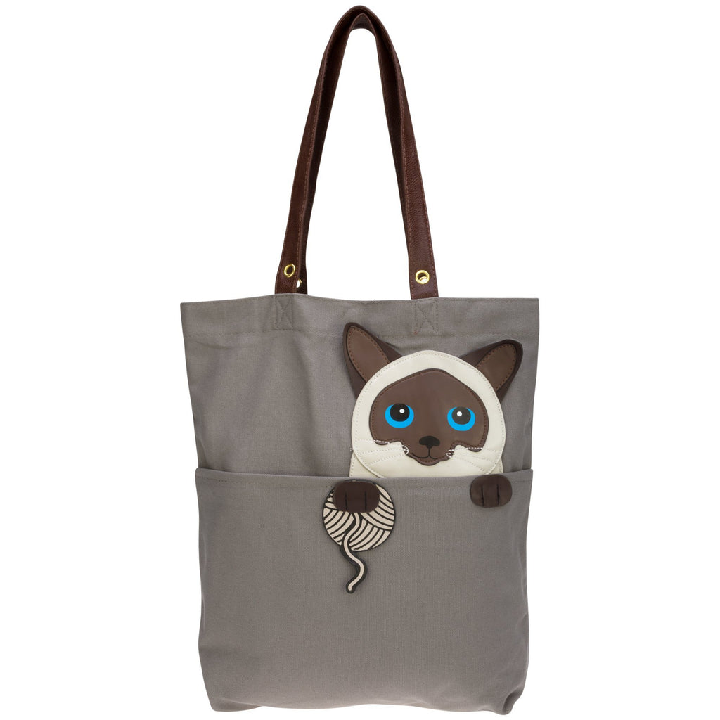 Sleepyville Kitty Tote Bag