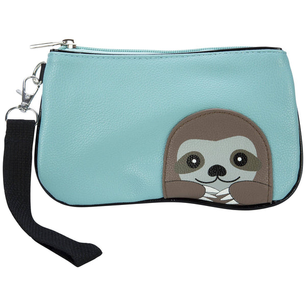 Peeking Baby Sloth Wristlet