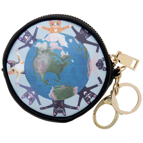 Cats Around The World Coin Purse