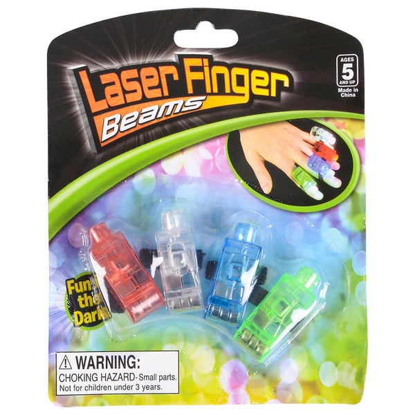 Laser Finger Beams