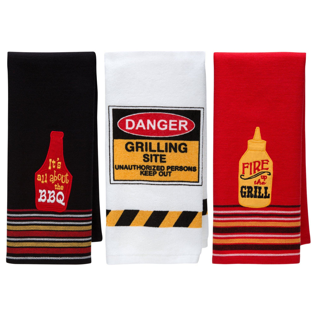 Summer Grillin' Kitchen Towel Collection