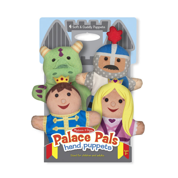Palace Pals Hand Puppets - Set Of 4