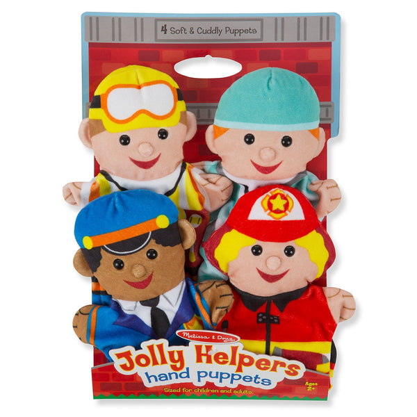 Jolly Helpers Hand Puppets - Set Of 4