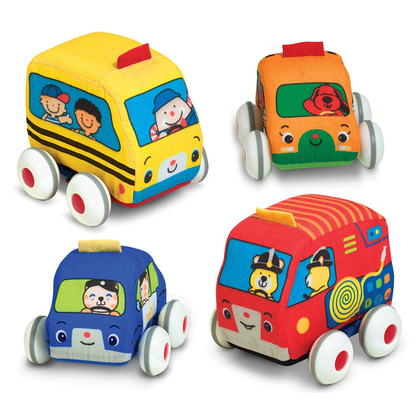 Pull-Back Town Vehicles Set