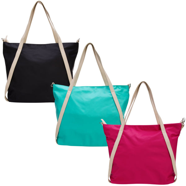 Athleisure Open Front Strap Tote
