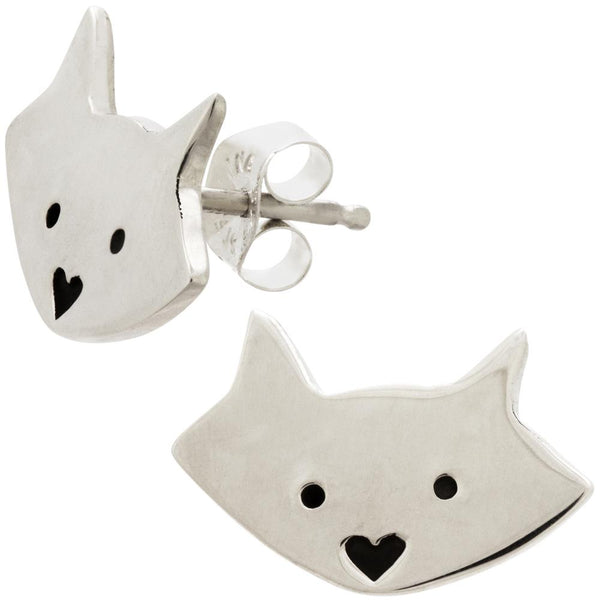 Cat Post Earrings