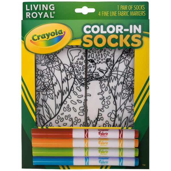 Crayola™ Color-In Socks