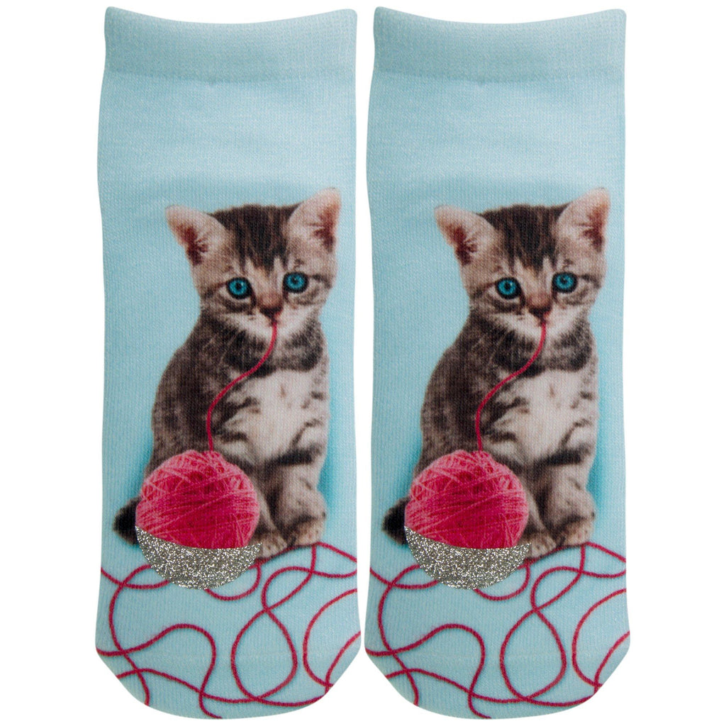 Cute Pets Glitter Socks