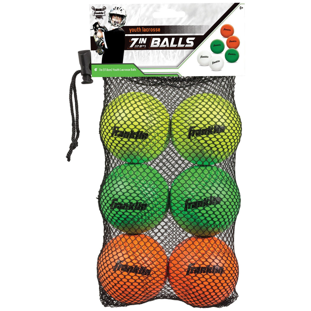 Youth Lacrosse Balls - Set Of 6