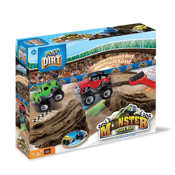 Play Dirt Monster Truck Rally Set