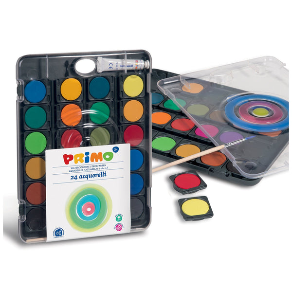 Primo® 24 Color Watercolor Mixing Palette