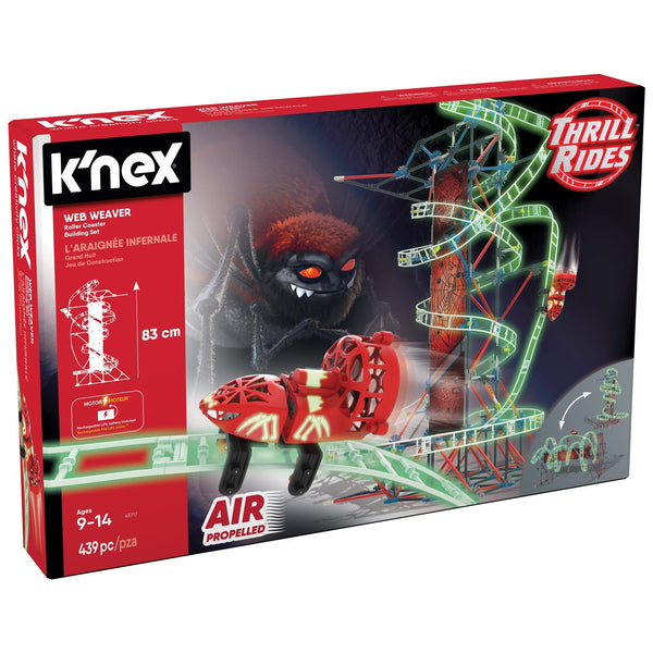 K'NEX® Web Weaver Roller Coaster Building Set