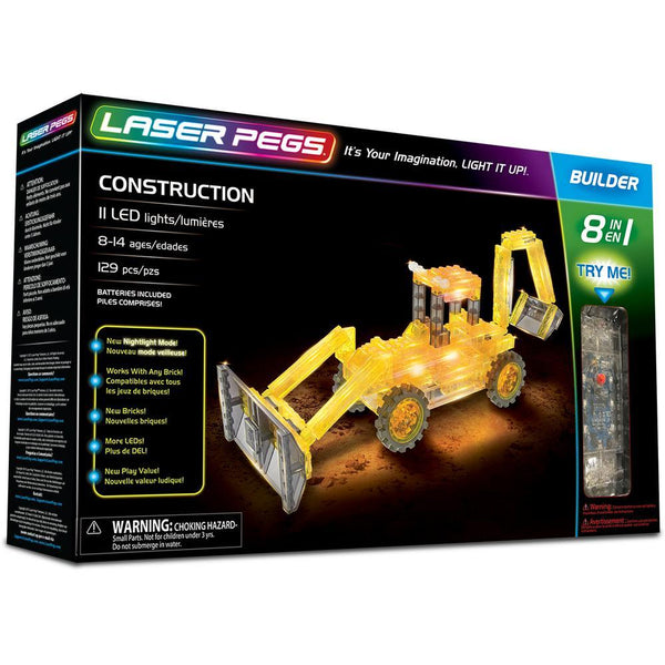 Laser Pegs® 8 In 1 Construction Set