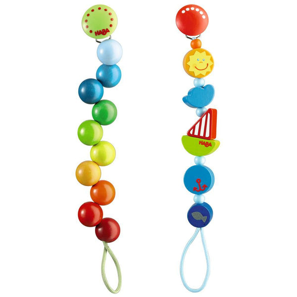 HABA® Wooden Pacifier Chains